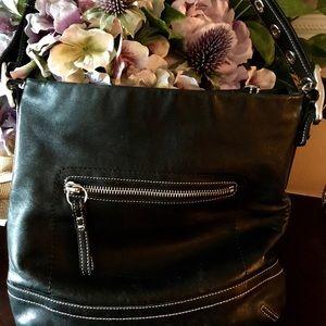 Coach shoulder bag. 8 x 7